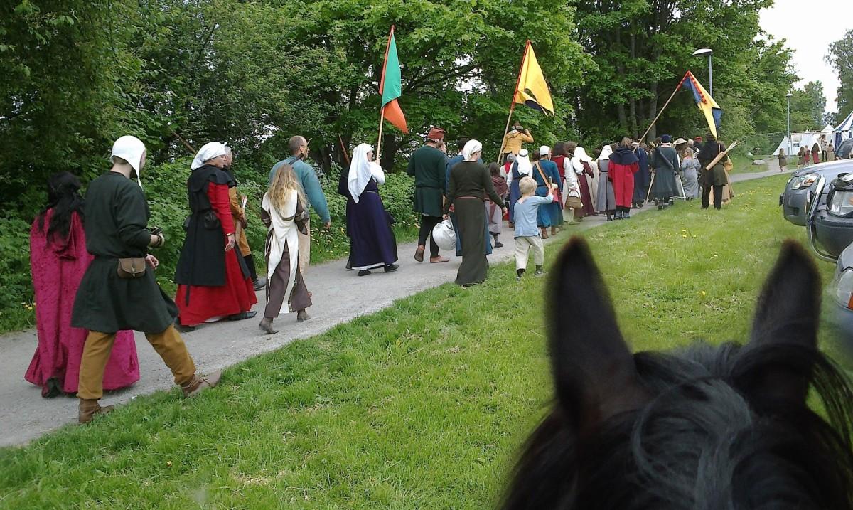Pilegrimsvandring hest, etappe 1: Hamar - Veldre