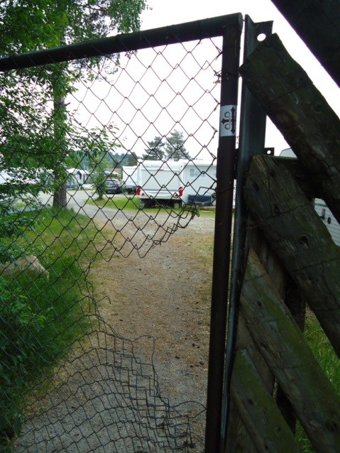 Steinvik camping lar pilegrimer komme gjennom