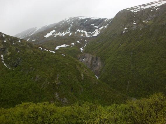 Utsikt fra Vårstigen.