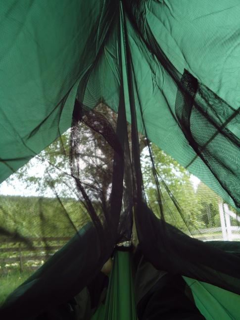 Inni Dovrefjell Wilderness hengekøye med tarp