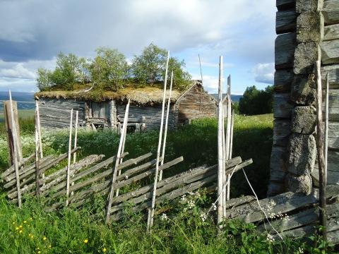 Nabogården til Langklopp som ligger brakk.