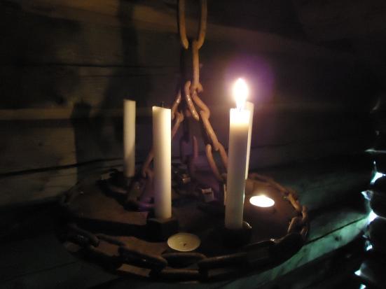 Lysestaken er laget av Ingrid Meslo.