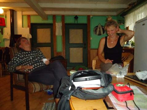 Latter i stua på Segard Hoel.