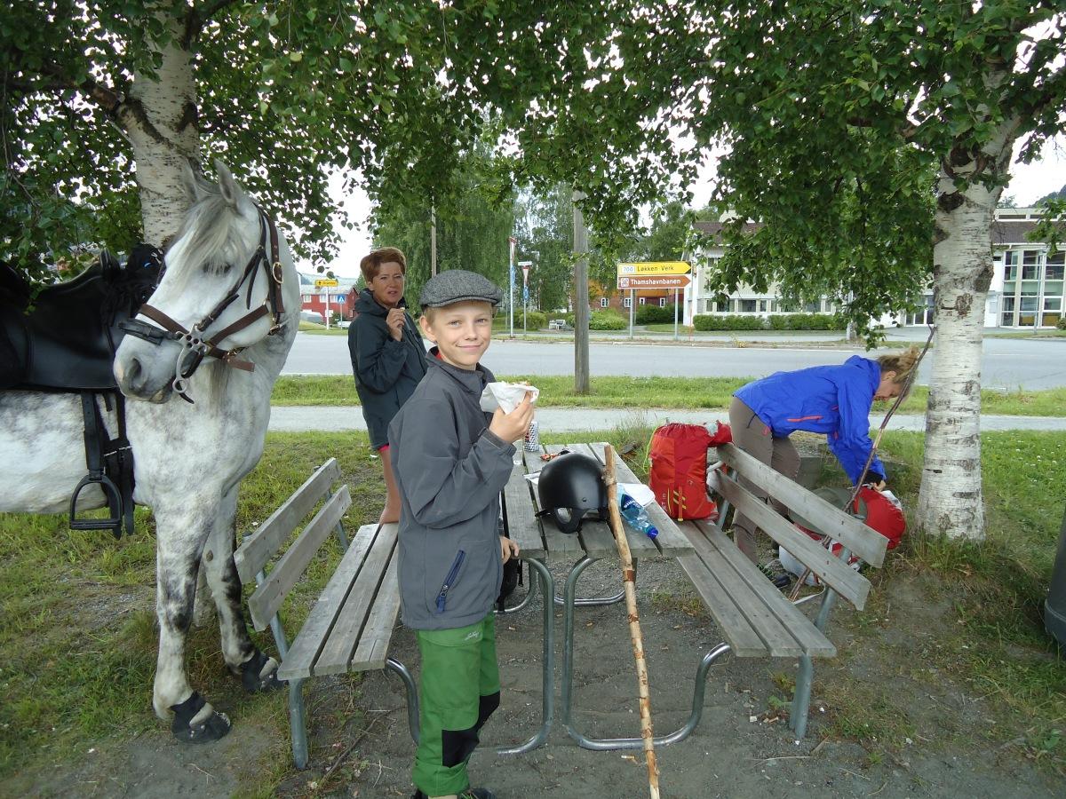 Pilegrimsvandring hest, etappe 23: Segard Hoel, Jerpstad - Storbuan, Løkken verk