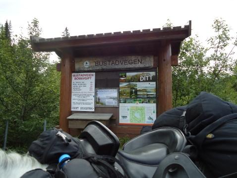 Aamotveien på Stavelimoen.